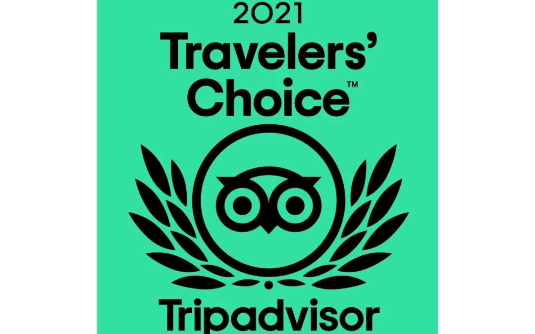 Travelers' Choice Award Tripadvisor