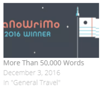 More than 50,000 Words: How I Won NaNoWriMo While Travelling in Southeast Asia