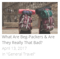 what are beg-packers