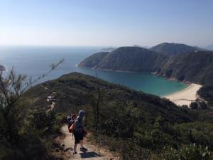 MacLehose Trail beach view