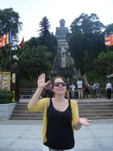 Big Buddha on Lantau Island in Hong Kong