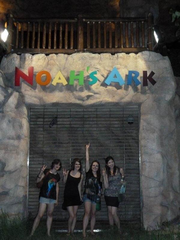 Noah's Ark on ma Wan Island in Hong Kong