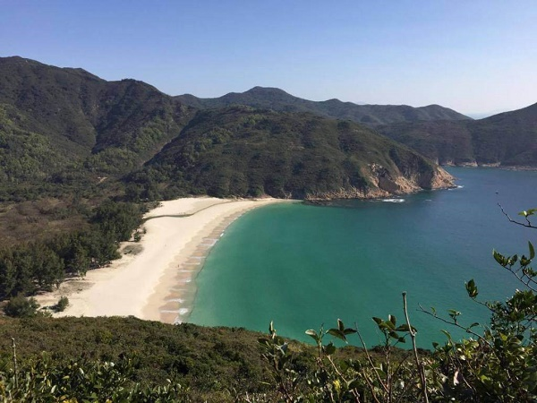 View of Long Ke Beach from the MacLehose Trail
