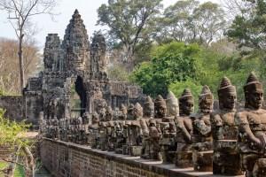 Temples in Angkor - Angkor Thom