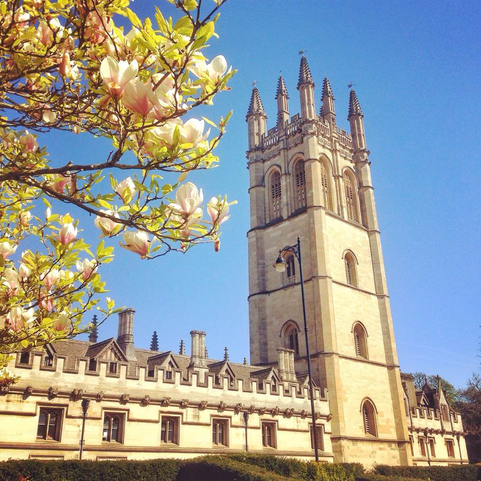 A Day in Oxford City Told Through Oxford Dictionary Definitions