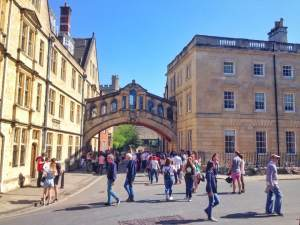 Oxford City - Oxford Dictionary: Bridge of Sighs