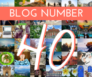 Blog Number 40 - Cover