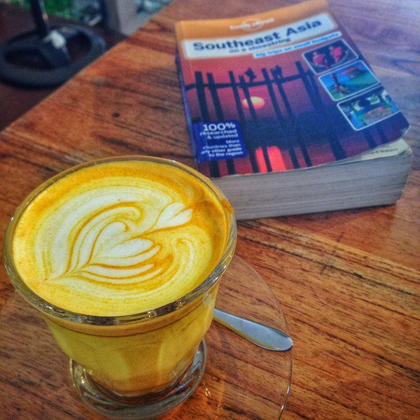 Southeast Asia on Shoestring and a hipster coffee in Siem Reap, Cambodia