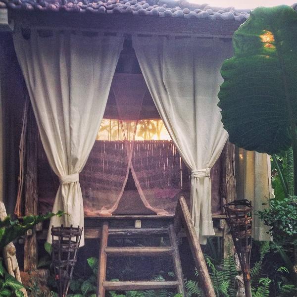 Treetop hotel room in Lovina, Bali, Indonesia