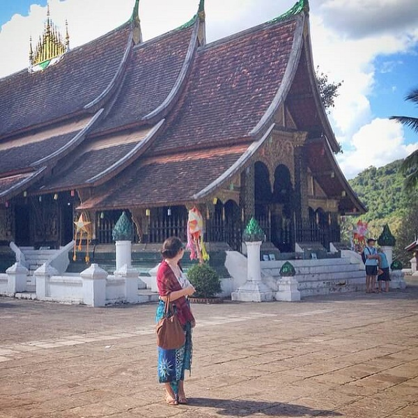 Wat Xieng Thong temples in Luang Prabang, Laos