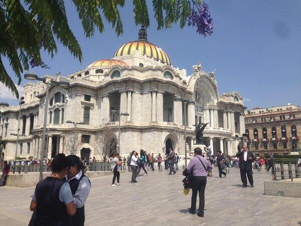 earthquakes in mexico city bellas-artes museum
