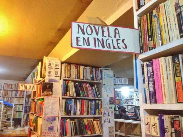 The Best Mexico City Bookstores for Books in English - Novela en Ingles