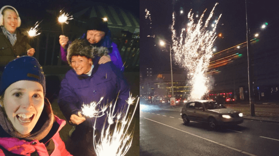 New Year's Eve in the Netherlands | Dodging Fireworks in Den Haag