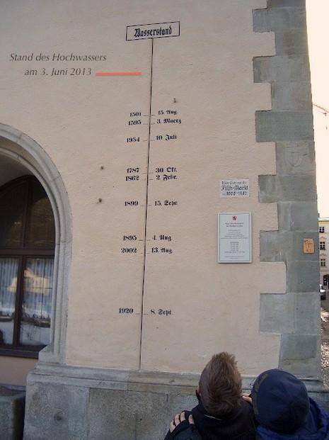 Hochwasser in Passau 2013 Bilder und Augenzeugenbericht