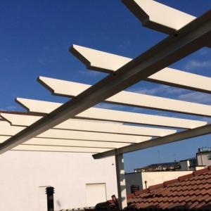 Pompeiana con pannelli solari