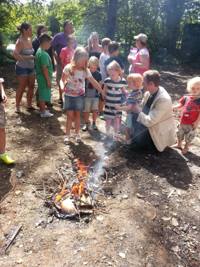 Sunday School Campfire