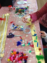Wednesday Club Christmas Party - Making Decorations