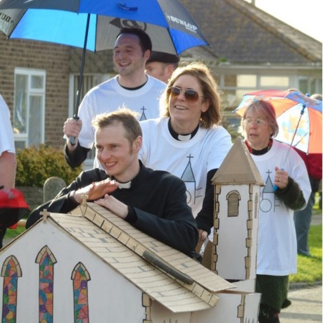 Raising the Roof at Pagham Pram Race