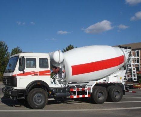 Jenis truck mixer