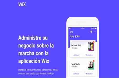aplicacion movil de wix gratis