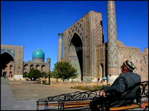 Ciudad de Samarcanda en Uzbekistán