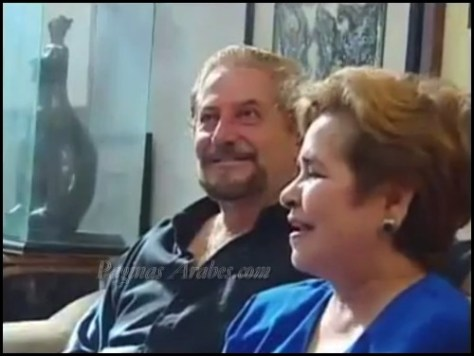 Don Jorge Yapur Sherife y su esposa, Doña Alicia Mariscal