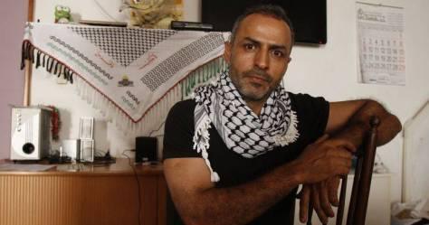 Ibrahim Abayat en la Casa Palestina de Zaragoza. - Foto: Ángel Castro