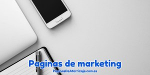 Paginas de marketing