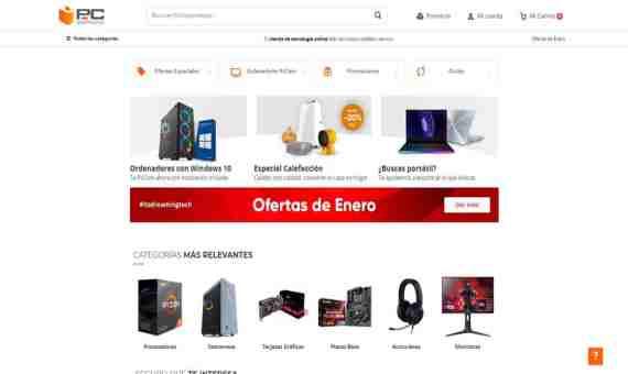 mejores tiendas online de informatica