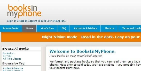 books en mi teléfono