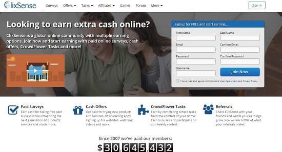Clicksense empresas que pagan por payoneer