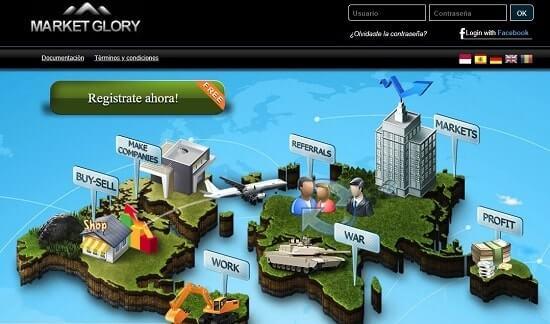 Market Glory paginas web para ganar dinero