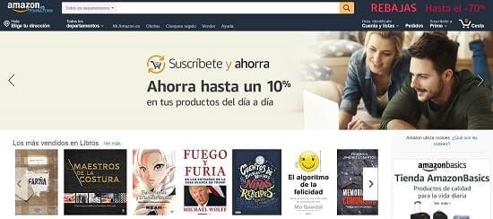 amazon tiendas en línea baratas