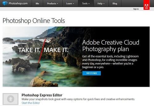 photoshoponlinephotoeditor editar fotos online
