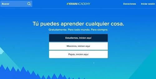 Khan Academy conocimientos para todos