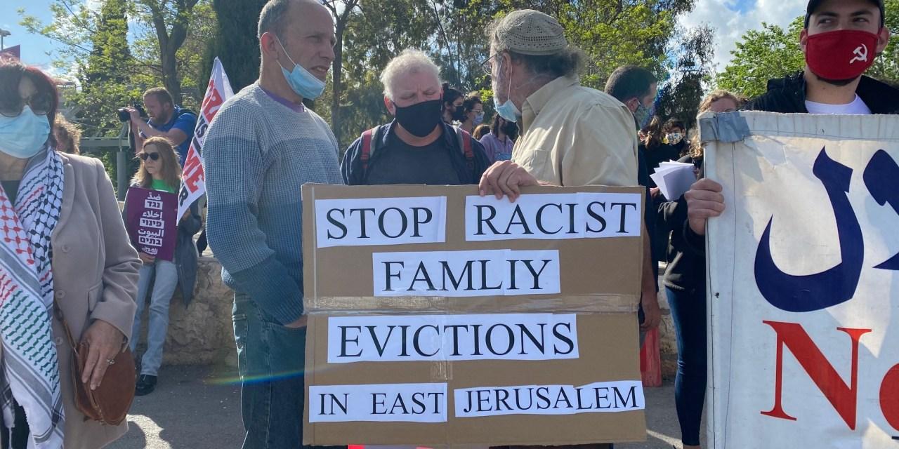 SHEIKH JARRAH. La Corte suprema israeliana ormai ha riconosciuto ai coloni la proprietà delle case palestinesi