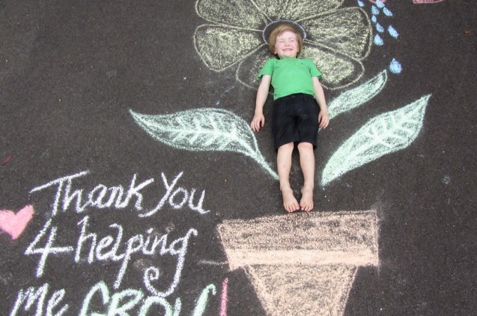 Teacher appreciation gift – Chalk it up! (Jen & Lou)