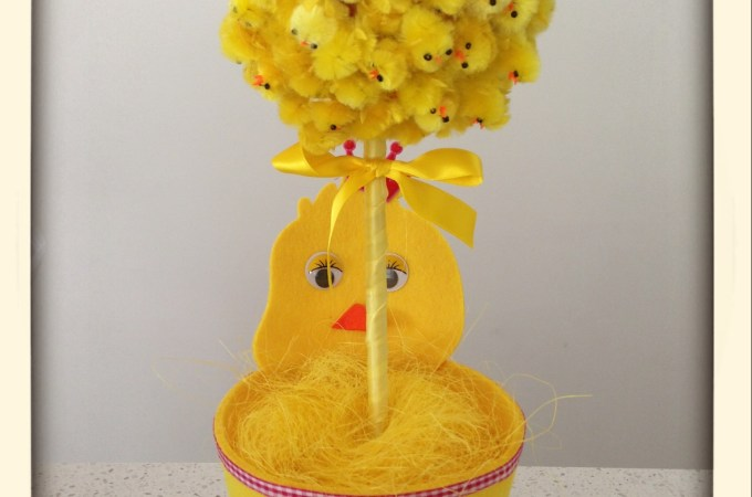 DIY Easter Topiary