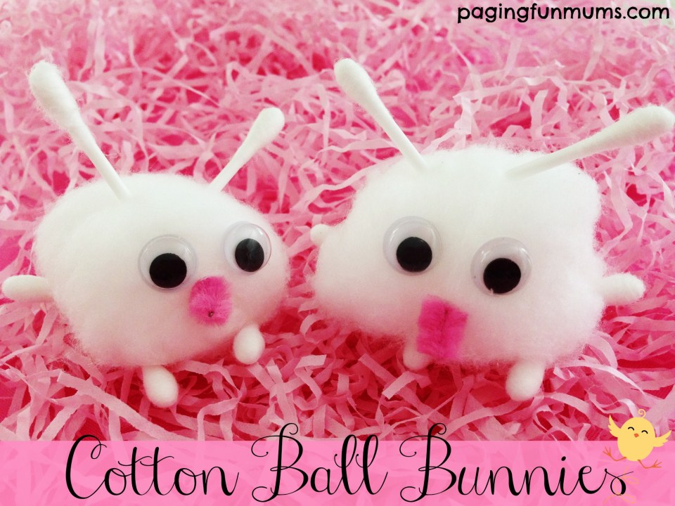 Cotton Ball Bunnies 7