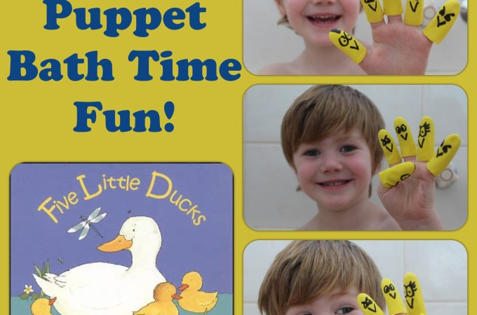 Five Little Ducks Bath Time Fun! – Jen