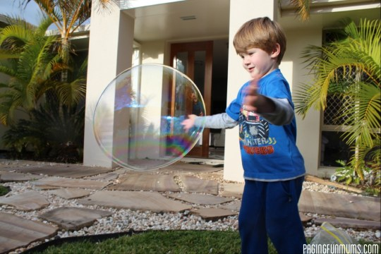GIANT Bubbles Recipe!
