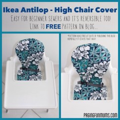 Antilop High Chair Pier One Swivel Cushion Ikea 39antilop 39 Cover Louise Paging Fun Mums