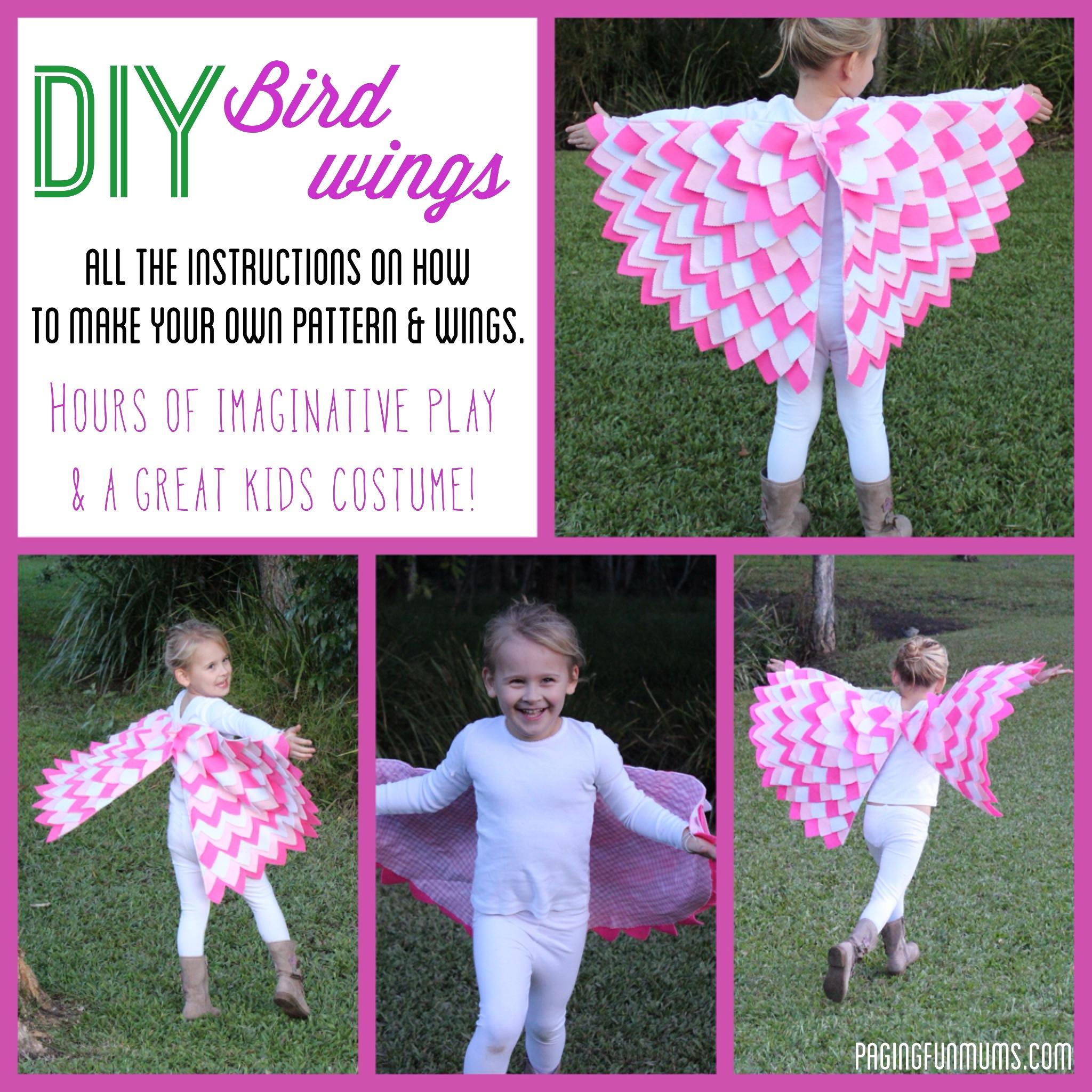 Diy bird wings solutioingenieria Gallery
