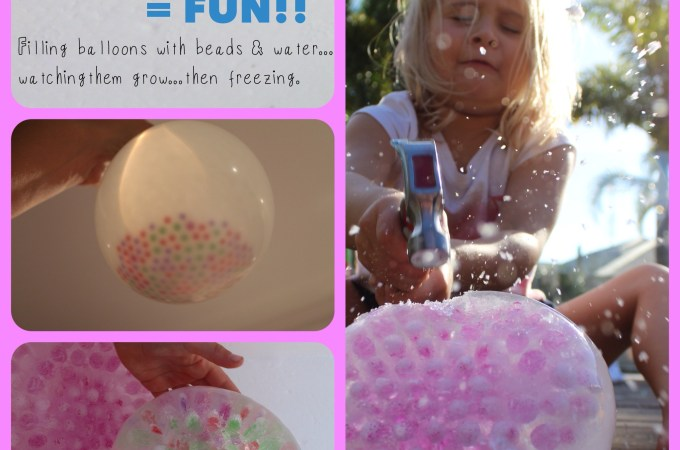 Frozen Waterbeads! – (Louise)