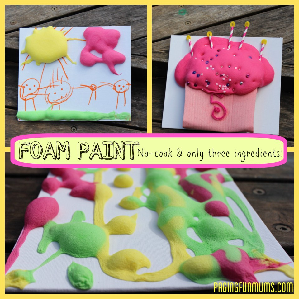 Foam Paint for Kids