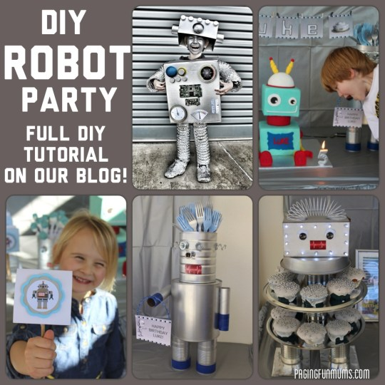DIY Robot Party
