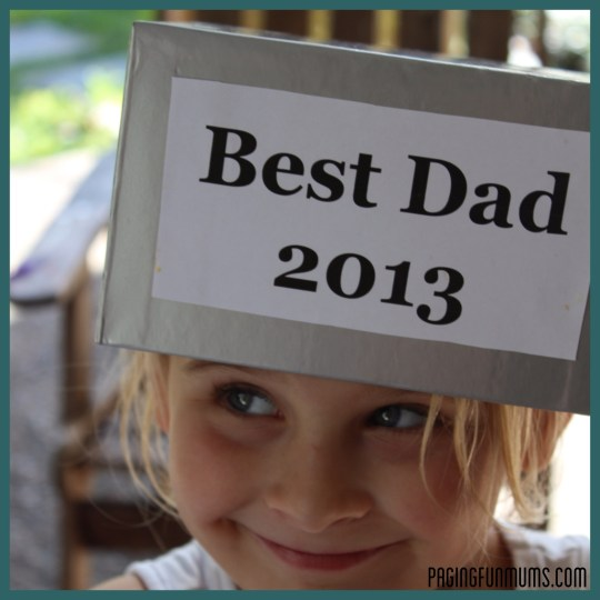 Best Dad Trophy - Great Father's Day Gift when filled with Dad's favourite treats!