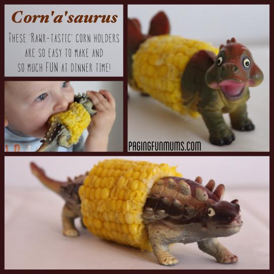 Dino Corn Holders