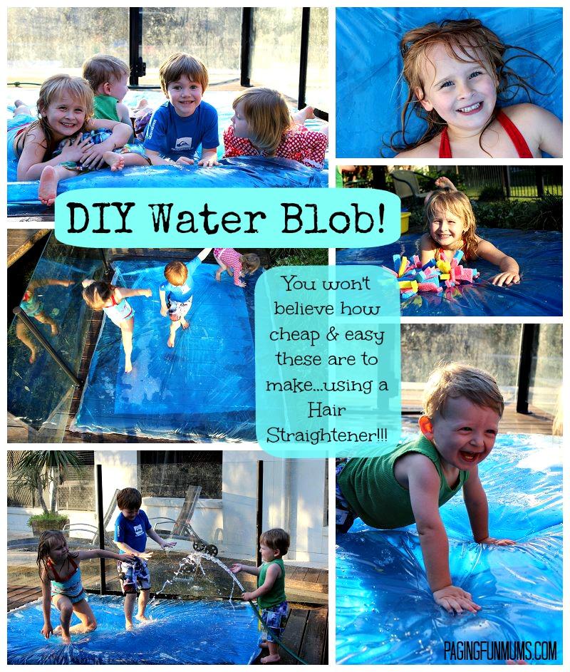 DIY Water Blob - Giant Sensory Water Bubble!