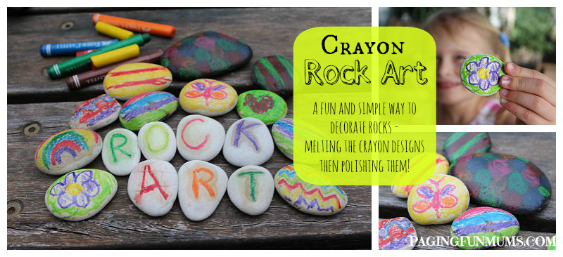 Crayon Rock Art